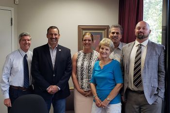Sen. Dahle meets with Placerville leaders